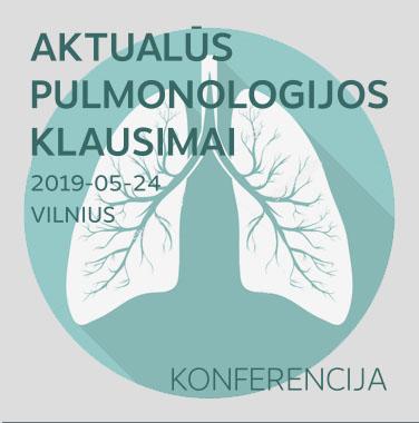 """KONFERENCIJA """"Aktualūs pulmonologijos klausimai"""", 2019-05-24, Vilnius"""