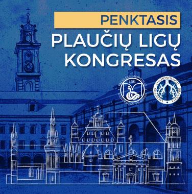 Penktasis plaučių ligų kongresas, 2020-11-13, Vilnius